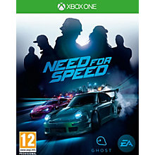XONE-NEED FOR SPEED