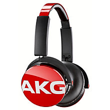 AKG HEADPHONES OE RED