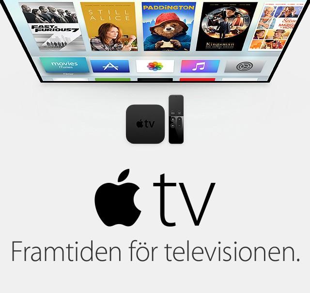 tappat bort min apple tv kontroll