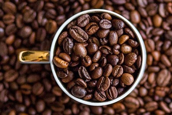 Bild av kaffebönor