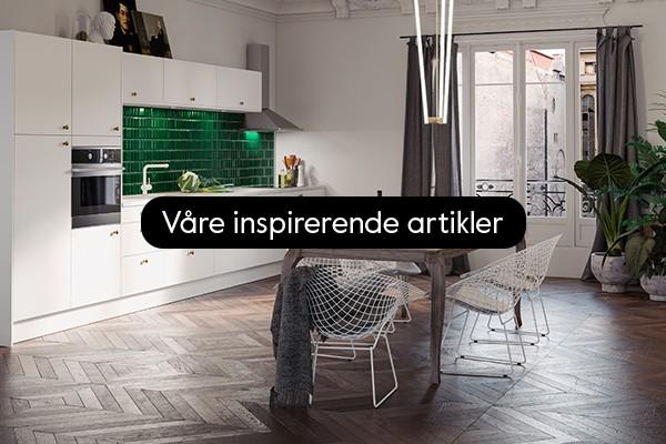 Våre inspirerende artikler for kjøkken og vaskerom