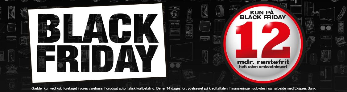 black friday tilbud bærbar