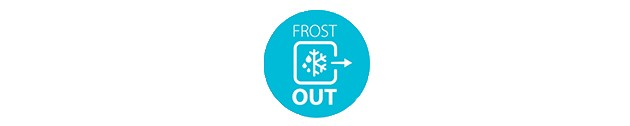 Mindre frostdannelse med FrosOut