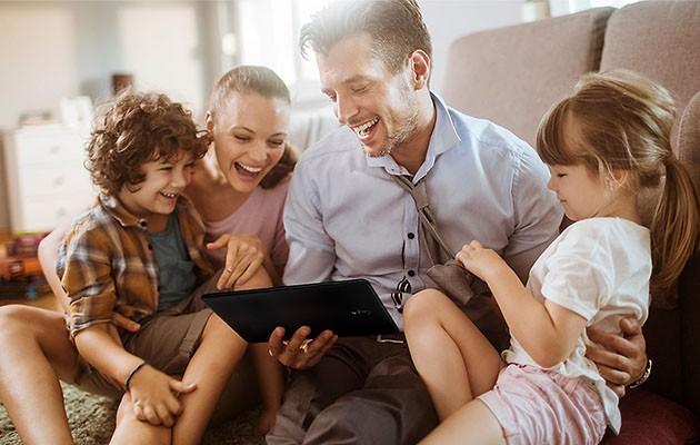 Galaxy Tab A bjuder på uppslukande underhållning