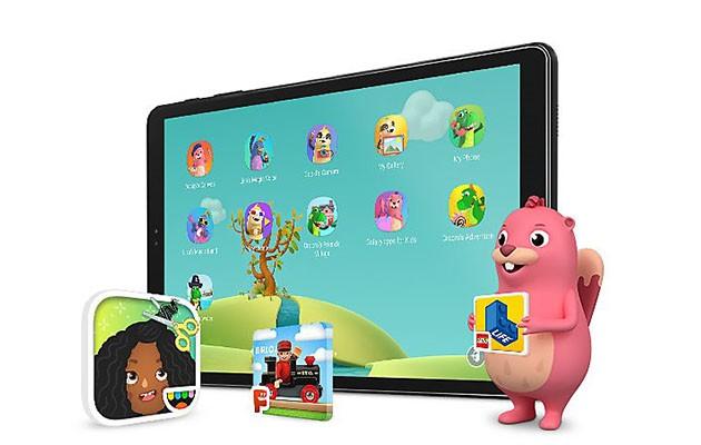 Galaxy Tab A har Kids Mode