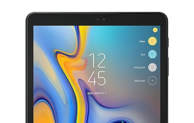 Galaxy Tab A kan ha 8 olika användare