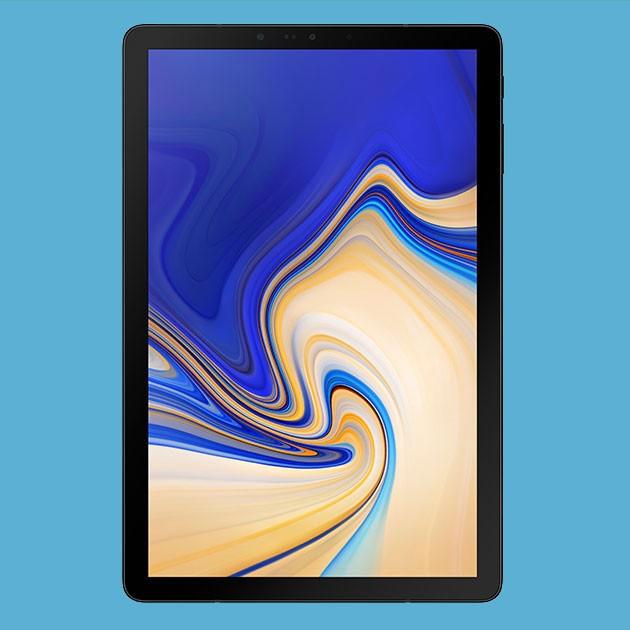 Produktbillede af Samsung Galaxy Tab S4, som bliver hjertet i dit opkoblede hjem