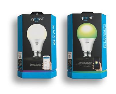 PRISMA 450 värilamppu. LUX 800 LED-lamppu.