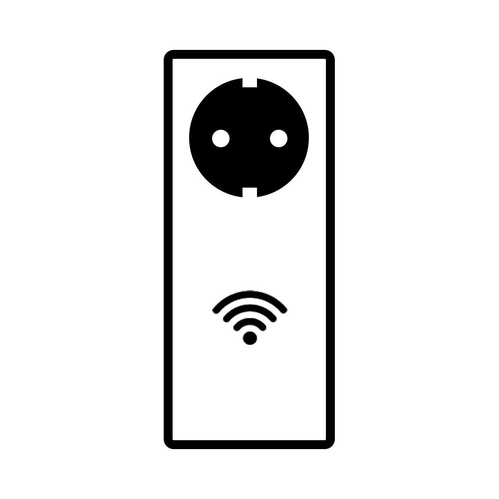 Stickkontakt-symbol