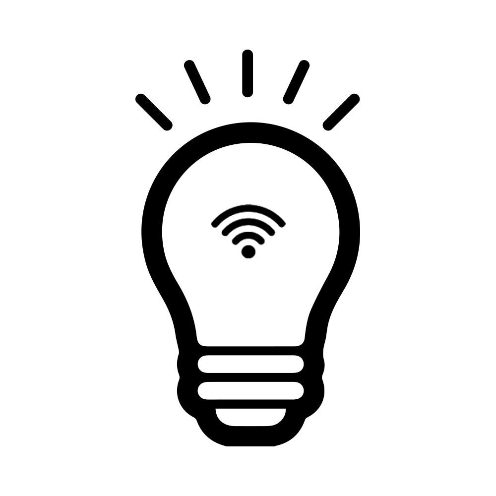 Symbol med el-pære