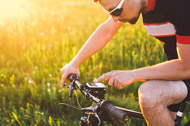 GPS till cykling
