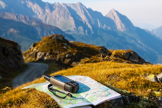 GPS till vandring