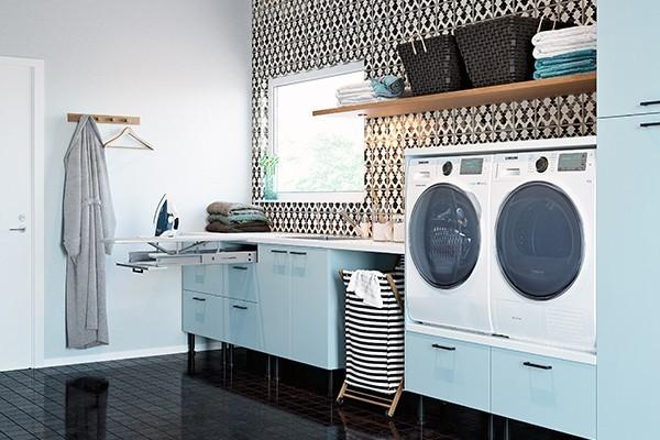 Bild av Epoq-tvättstuga med strykjärnslösning