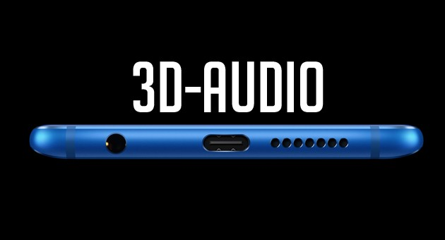 Honor 9 - 3D-audio