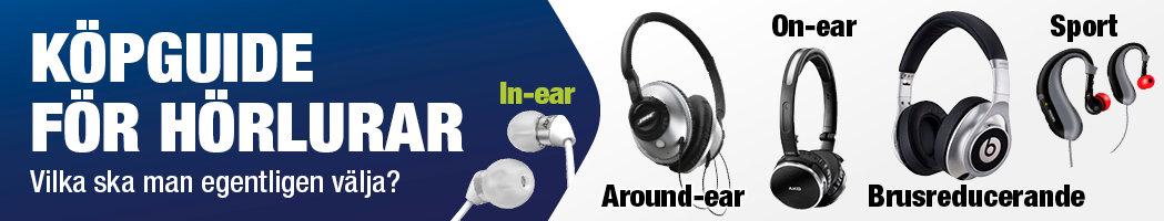 test hörlurar in ear iphone