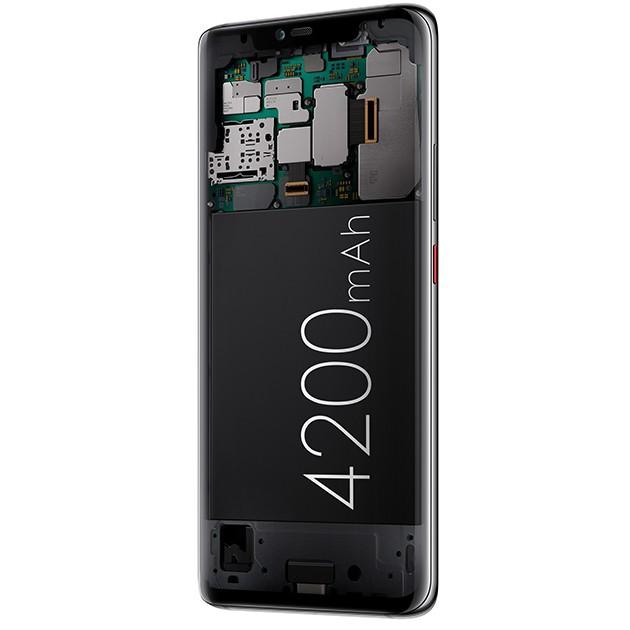 Huawei Mate 20 Pro -älypuhelimessa on 4200 mAh akku