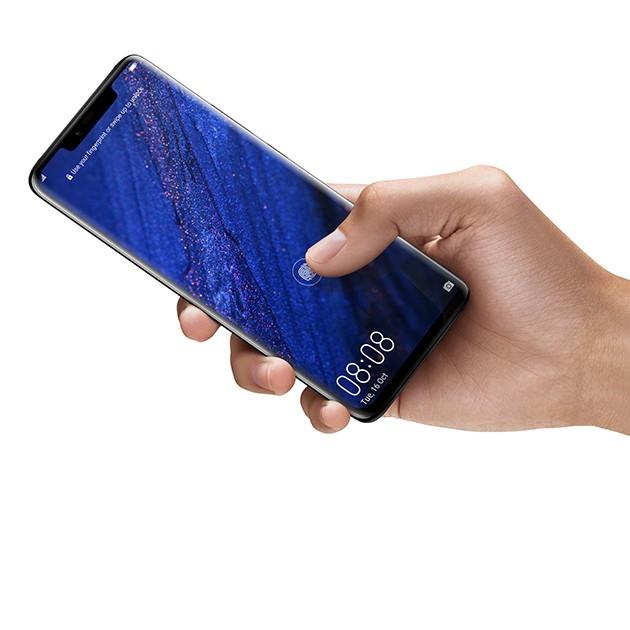 Huawei Mate 20 Pro sormenjälkilukija