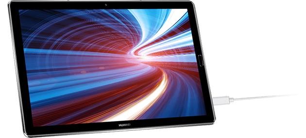 Huawei MediaPad M5 laddas