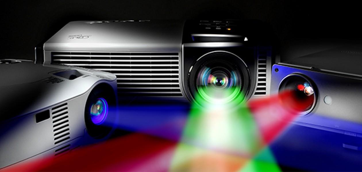 Velg riktig projektor