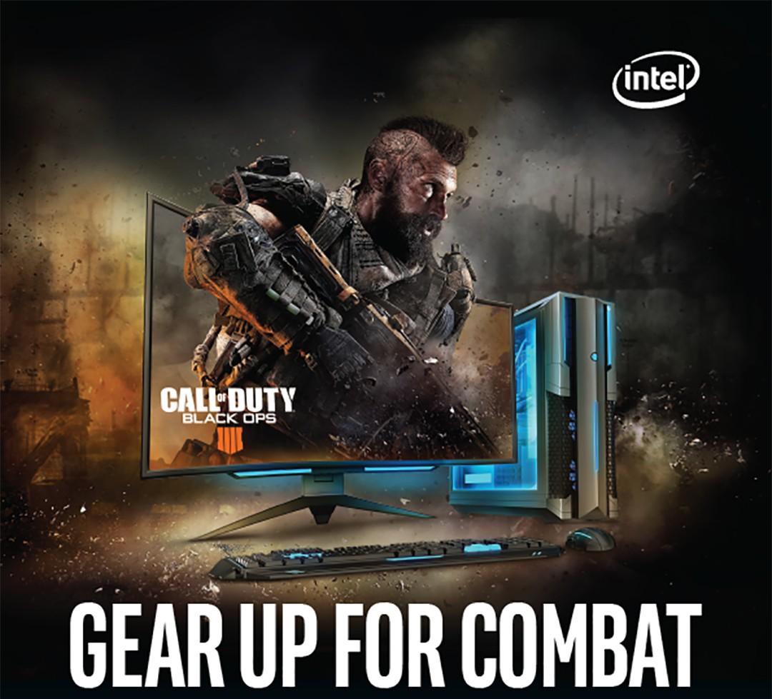 Køb et udvalgt Intel produkt og få Call of Duty: Black Ops IV med i købet