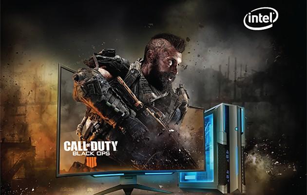 Köp en bestämd Intel-produkt och få Call of Duty: Black Ops 4 med på köpet