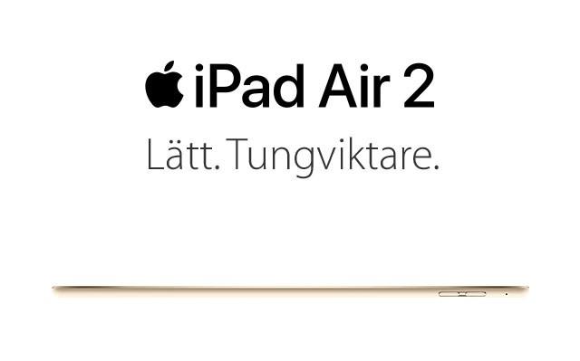 iPad Air 2 - en lätt tungviktare