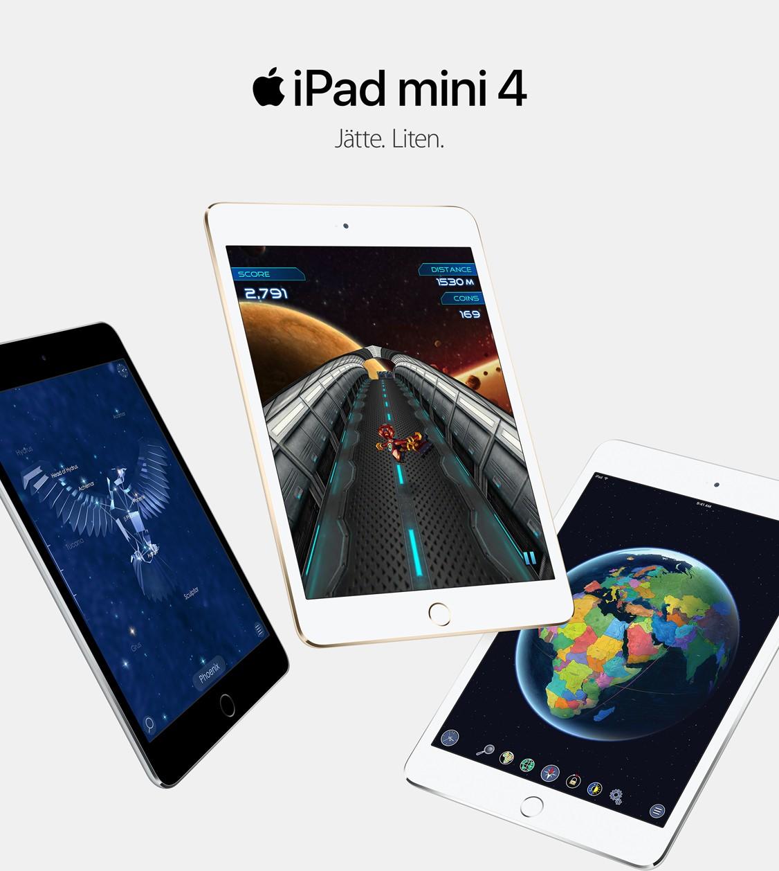 iPad mini 4 – en urstark liten surfplatta