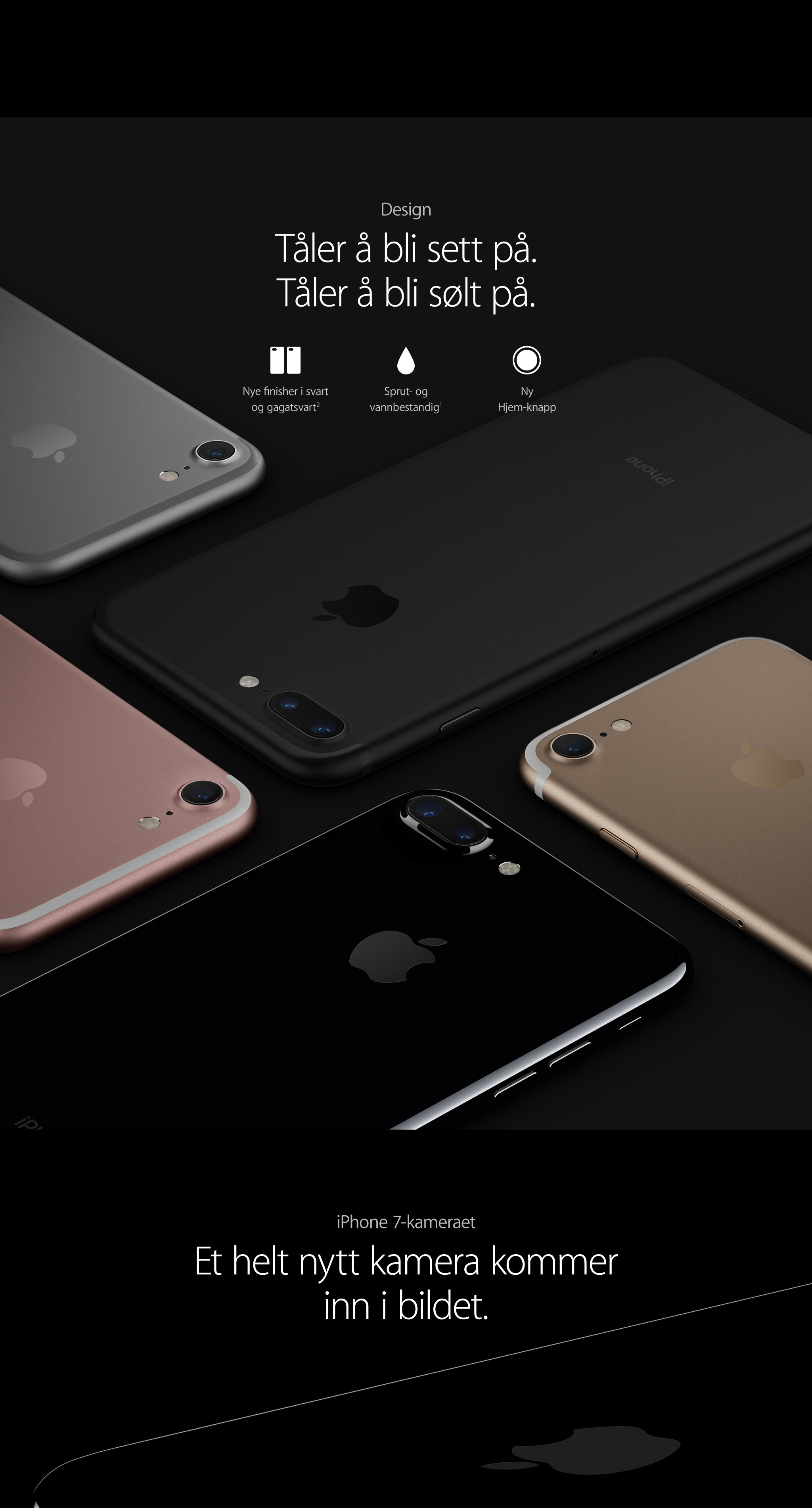 Kjøp iPhone 7 og iPhone 7 Plus hos Elkjøp | Doble kameraer og flere farger