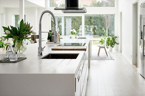 Billede af en køkkenø fra Epoq