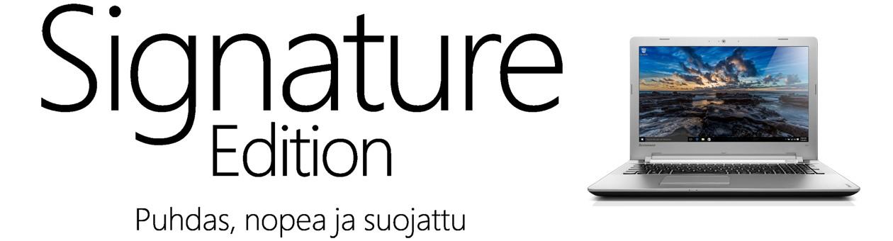 Microsoft Signature Edition - Gigantti