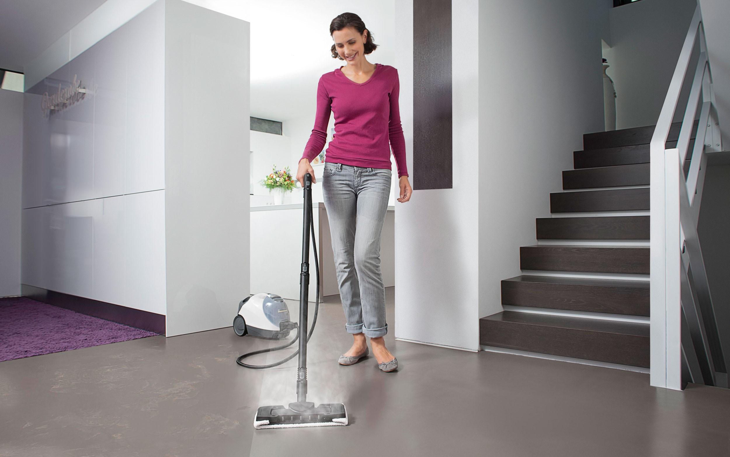 Kärcher ångtvätt   för grundlig rengöring av ditt hem   elgiganten