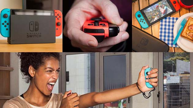 Nintendo Switch - yksi konsoli, monipuoliset käyttömahdollisuudet