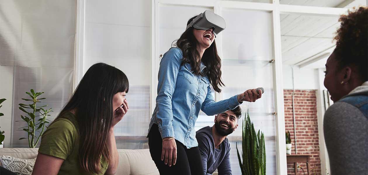 Masser af underholdning med Oculus Go