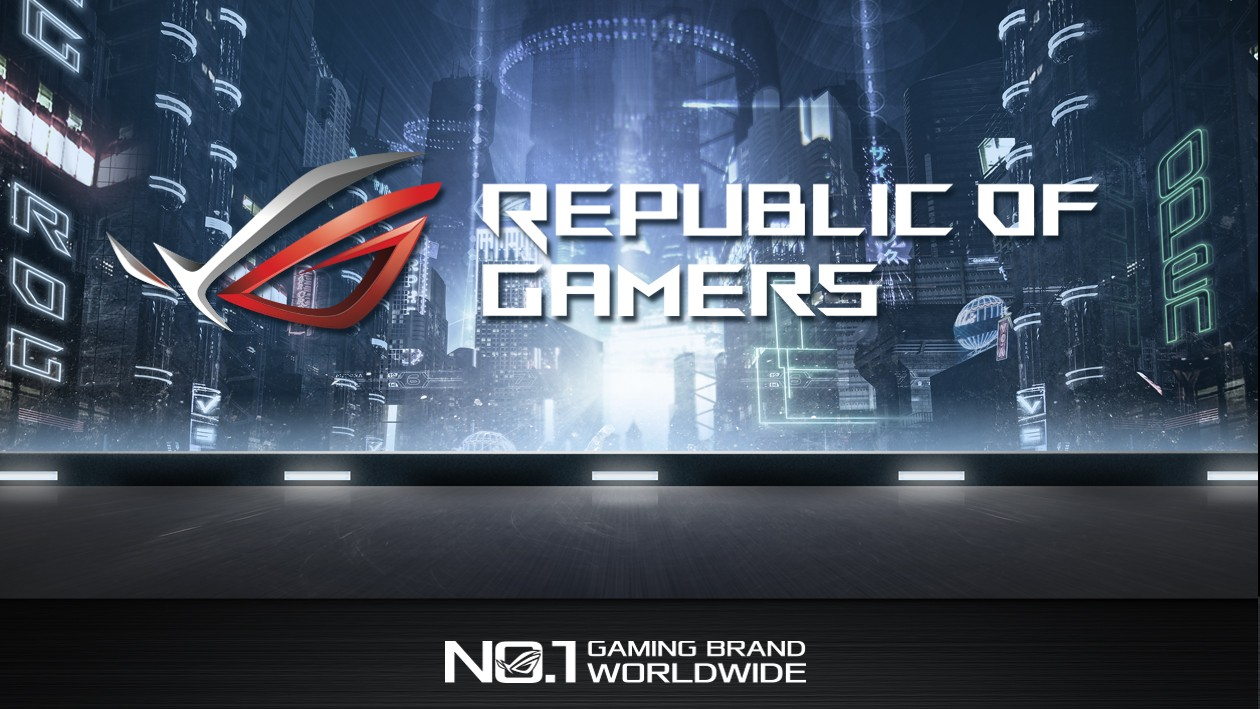 ASUS Republic Of Gamers - Komponenter i verdensklasse