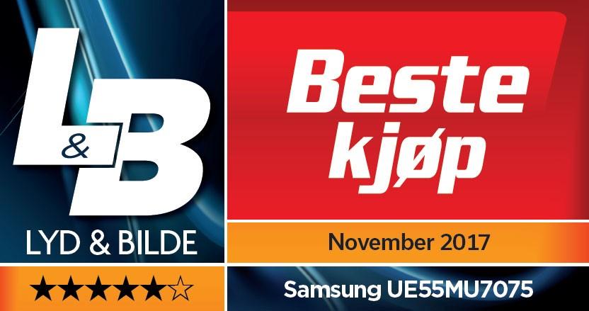 Samsung UE55MU7075 Beste kjøp lyd og bilde