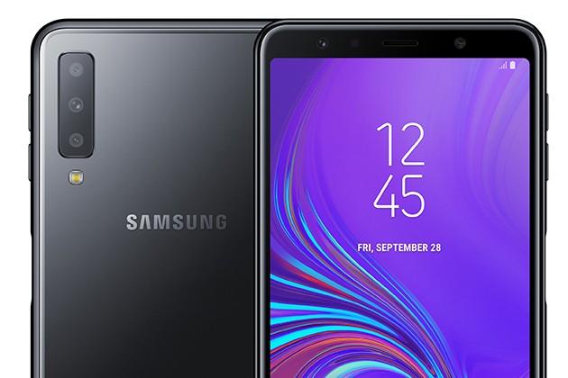 Samsung Galaxy A7 sort