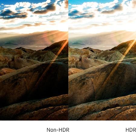 Detaljerne kommer frem i lyset med HDR