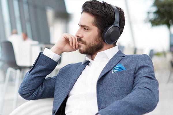 Sony noice cancelling hodetelefoner