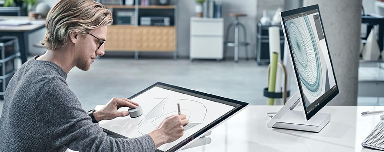 Surface Studio – Gjør ditt skrivebord til et Studio