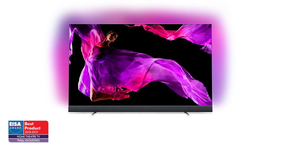Philips 903 - Upplev en ultratunn 4K UHD OLED TV med Ambilight