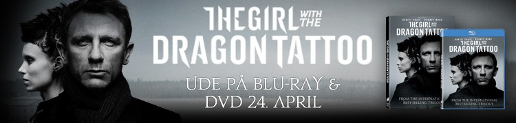The girl with the dragon tattoo - Blu-ray og DVD