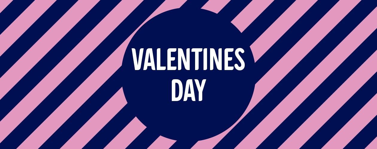 Glæd en du holder af på Valentines Day
