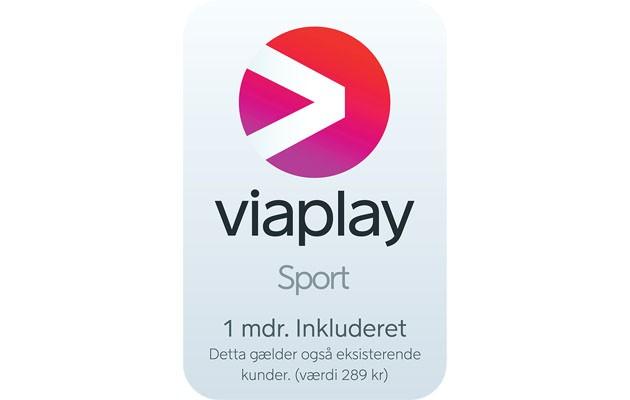 Få Viaplay Sport med i købet!