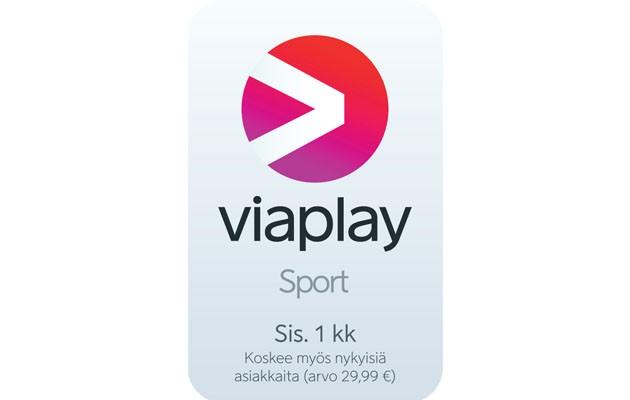 1 kuukauden Viaplay Sport -tilaus kaupan päälle!