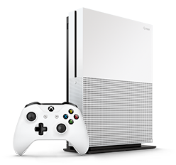 Læs mere om Xbox One S konsol