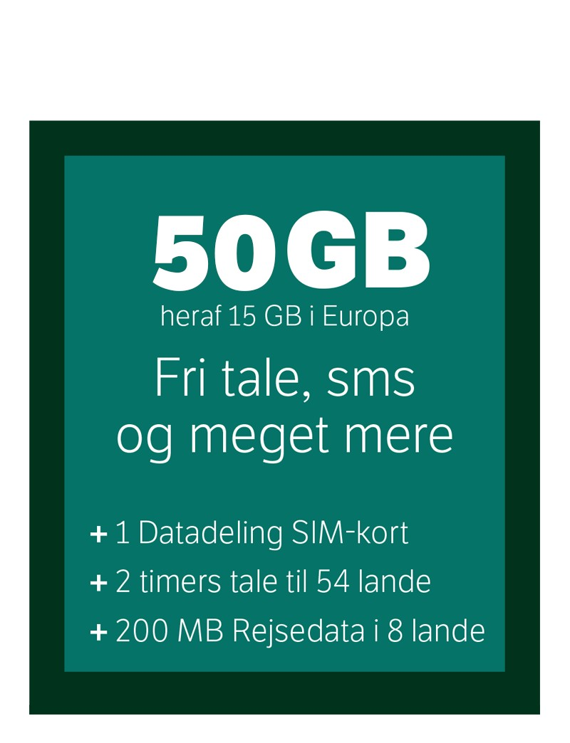YouSee 50GB