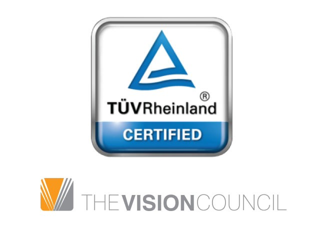 InvisibleShield har certificering för effektiv filtrering från skadlig, synlig högeneri blått ljus