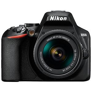 Nikon D3500 digitaalikamera + AF-P DX Nikkor 18–55 mm zoomiobjektiivi