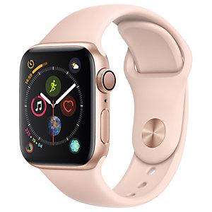 Apple Watch Series 4 40mm (kulta/pinkki urheiluranneke)