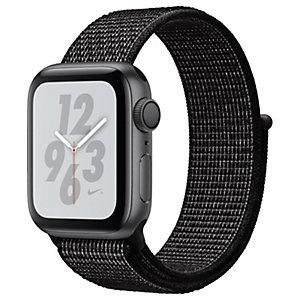 Apple Watch Series 4 Nike+ 40 mm (harmaa/musta sport loop)